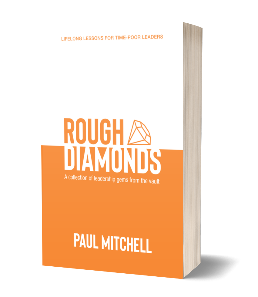 Rough Diamonds Cover | Paul Mitchell | Books on Leadership